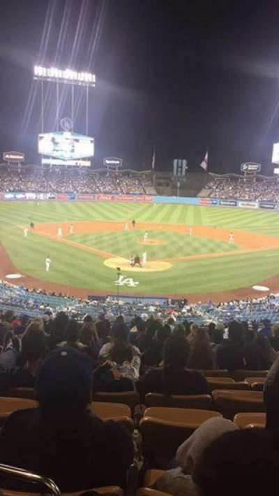 Dodger Stadium, section: 104LG, row: M, seat: 6