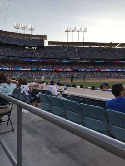 Dodger Stadium, section: 38FD, row: A, seat: 8