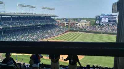 Wrigley Field, section: 532, row: 3, seat: 104