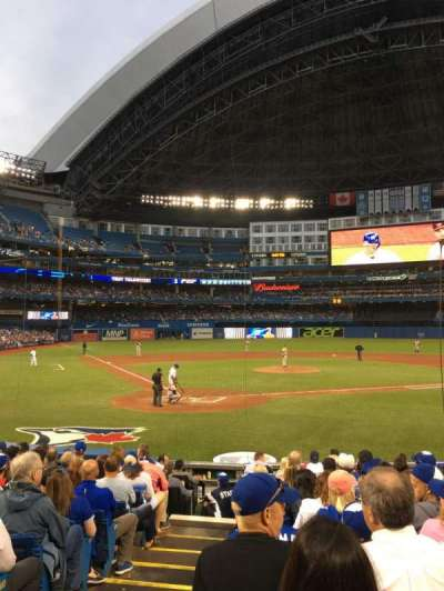 Rogers Centre, section: 120R, row: 13, seat: 1