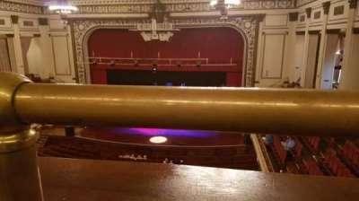 Symphony Hall (Springfield), section: Balcony, row: A, seat: 124