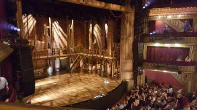 PrivateBank Theatre, section: Mezzanine L, row: A, seat: 9