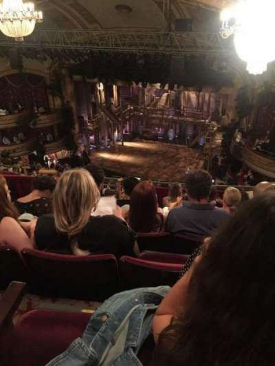 Richard Rodgers Theatre, section: RMezz, row: G, seat: 22