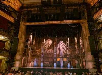 PrivateBank Theatre, section: Orchestra C, row: Q, seat: 110