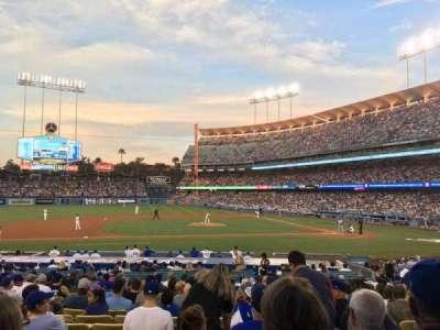 Dodger Stadium, section: 19FD, row: S, seat: 4
