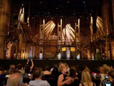 PrivateBank Theatre, section: Orchestra C, row: J, seat: 105
