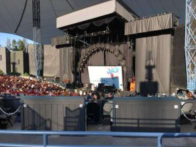 Shoreline Amphitheatre, section: 200, row: B, seat: 21