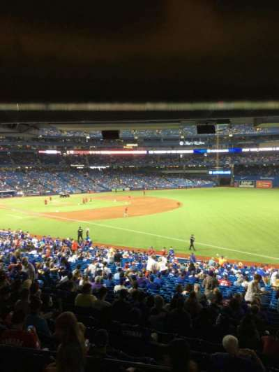 Rogers Centre, section: 112R, row: A, seat: 6