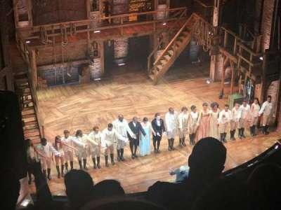 CIBC Theatre, section: Balcony L, row: E, seat: 5,7
