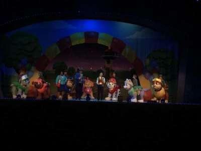 Fox Theatre (Atlanta), section: ORCHCT, row: AA, seat: 108