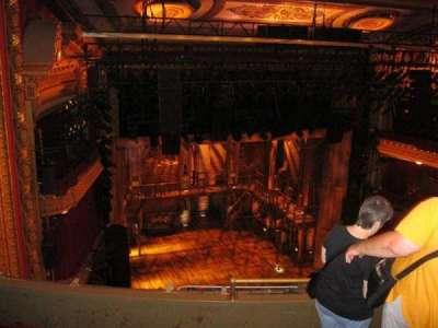 CIBC Theatre, section: Balcony L, row: E, seat: 5