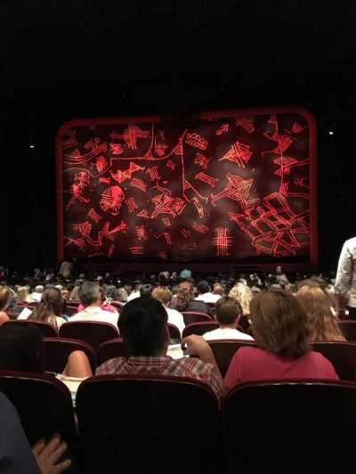 Minskoff Theatre, section: Orchestra, row: V, seat: 123,124