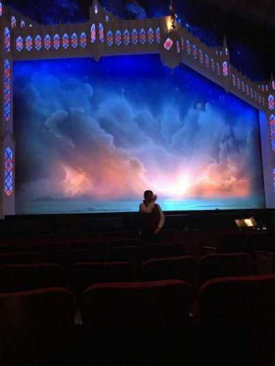Pantages Theatre (Hollywood), section: ORCHLC, row: F, seat: 305
