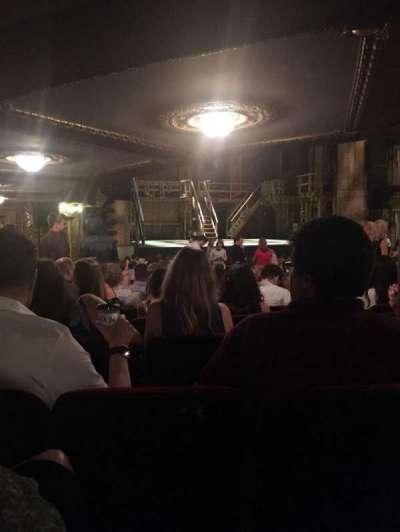 CIBC Theatre, section: Orchestra C, row: X, seat: 5