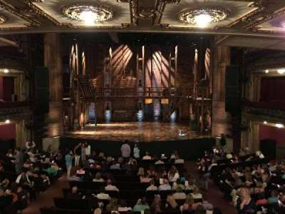 CIBC Theatre, section: Dress Circle C, row: A, seat: 207