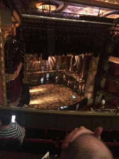 CIBC Theatre, section: Balcony L, row: E, seat: 13