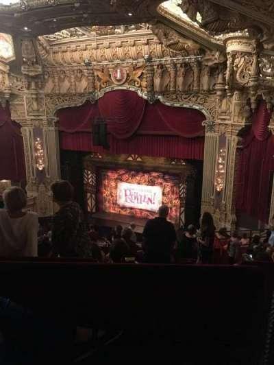 Oriental Theatre, section: Balc-R, row: N, seat: 372