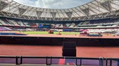 London Stadium section 148