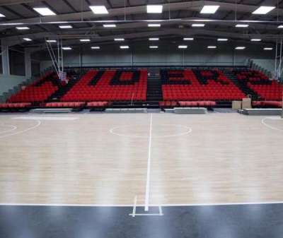 Leicester Arena, section: 2, row: 1