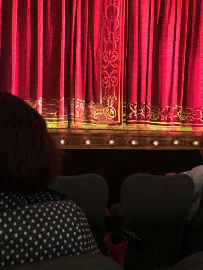Shubert Theatre , section: Orchestra, row: D, seat: 111