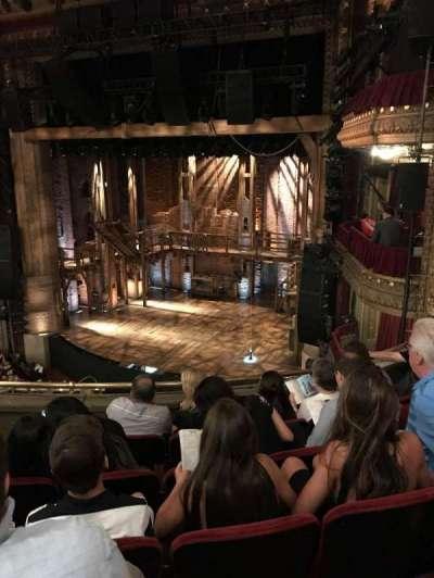 PrivateBank Theatre, section: Mezzanine R, row: E, seat: 10