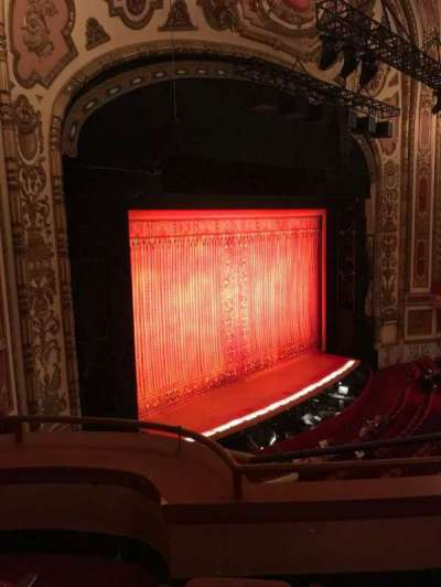 Cadillac Palace Theater, section: Loge FL, row: C, seat: 31