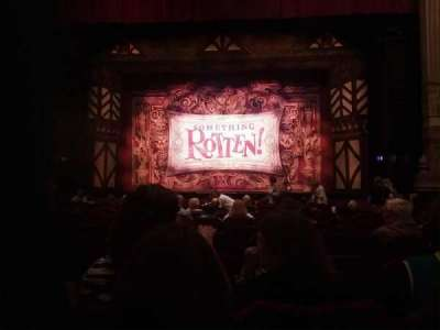 Oriental Theatre, section: Aisle3, row: O, seat: 112