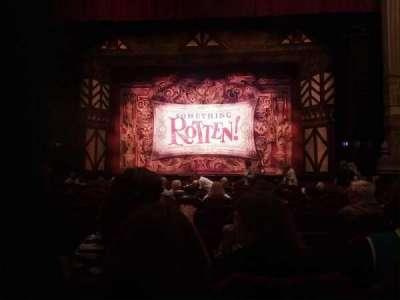 Oriental Theatre, section: Aisle3, row: O, seat: 112
