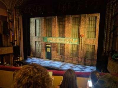 Al Hirschfeld Theatre, section: Mezz, row: C, seat: 6