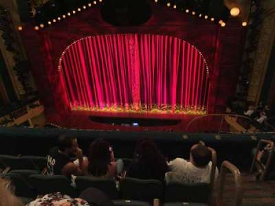 Shubert Theatre, section: Balcony, row: E, seat: 101