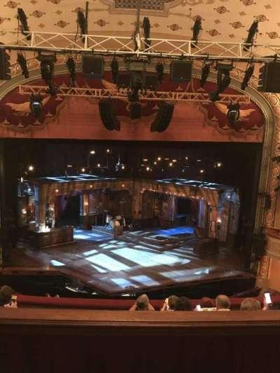 Bernard B. Jacobs Theatre, section: Center mezz, row: E, seat: 108
