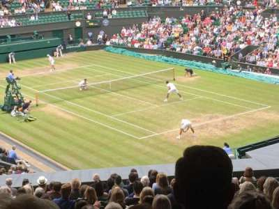Wimbledon, Centre Court, section: 302, row: T, seat: 041