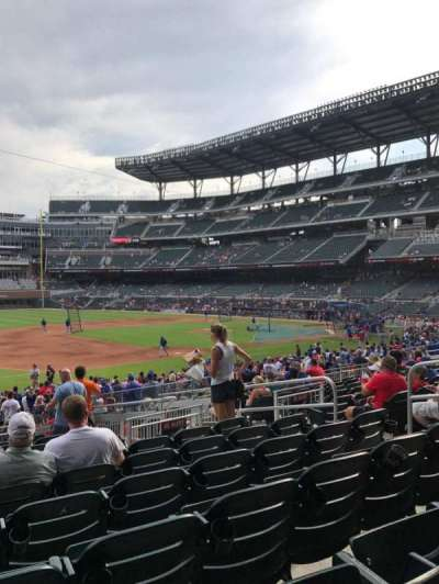 SunTrust Park, section: 137, row: 10, seat: 8
