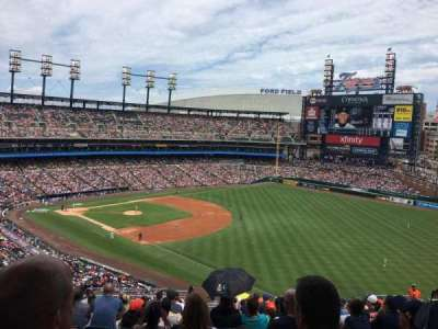 Comerica Park, section: 213, row: 20, seat: 20