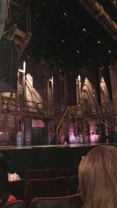 Richard Rodgers Theatre, section: ORCH, row: D, seat: 17