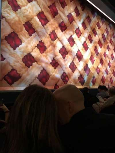 Brooks Atkinson Theatre, section: orch, row: c, seat: 9