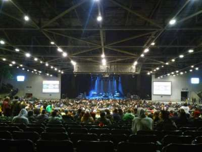 Concord Pavilion, section: 205, row: K, seat: 107