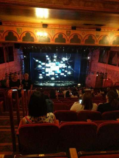 August Wilson Theatre section Mezzanine