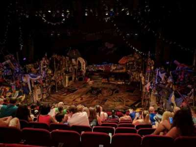 Neil Simon Theatre, section: Front Mezzanine, row: H, seat: 120