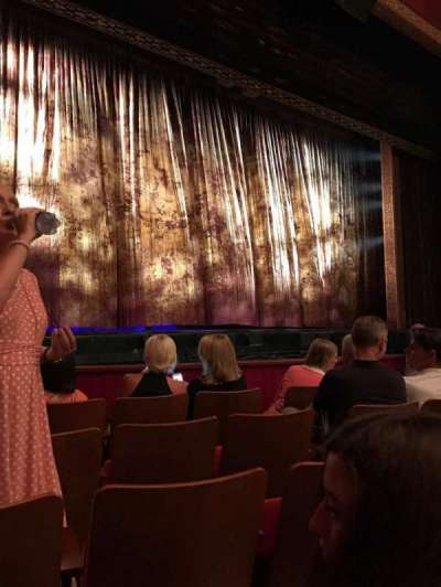 The Kennedy Center Opera House, section: Or H, row: J, seat: 9
