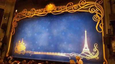 Broadhurst Theatre, section: orcho, row: k, seat: 2