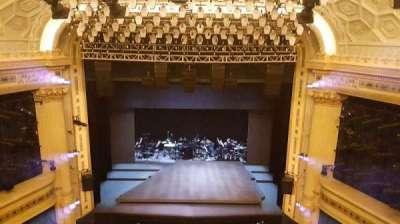 Hudson Theatre, section: balcc, row: c, seat: 109