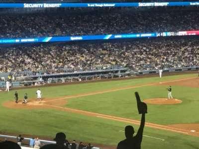 Dodger Stadium, section: 146, row: T, seat: 1