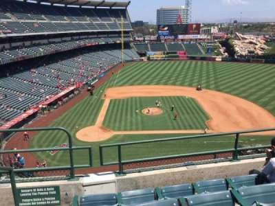 Angel Stadium, section: V424, row: D, seat: 1