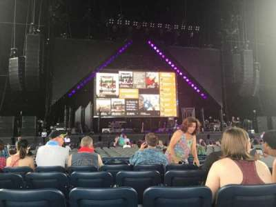 Veterans United Home Loans Amphitheater, section: 102, row: G, seat: 39