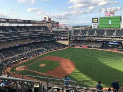 Target Field, section: 305, row: 11, seat: 17