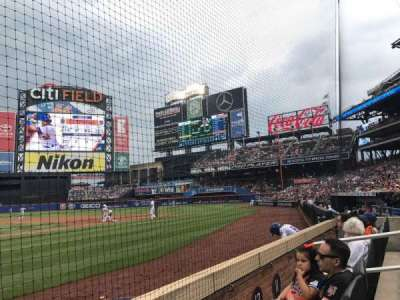Citi Field, section: 12, row: 2, seat: 2