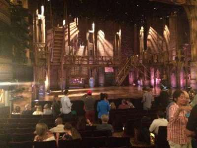 Richard Rodgers Theatre, section: Orchestra, row: L, seat: 9