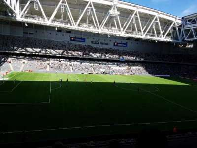 Tele2 Arena, section: B305, row: 4