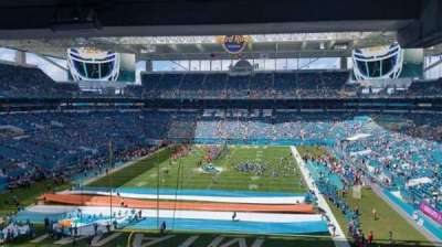 Hard Rock Stadium, section: M31 - Mezzanine Suite Level, row: 1, seat: 5